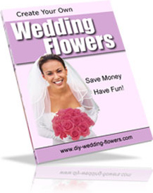 Ebook cover: Create Your Own Wedding Flowers