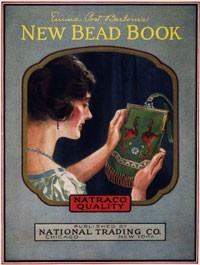 Ebook cover: THE NEW BEAD BOOK