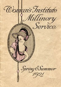 Ebook cover: Spring & Summer Hats