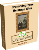 Ebook cover: Preserving Your Heritage With Scrapbooking
