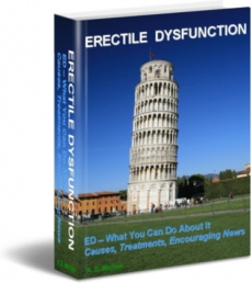 Ebook cover: Erectile Dysfunction
