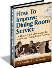 Ebook cover: How to Improve Restaurant Dining Room Service