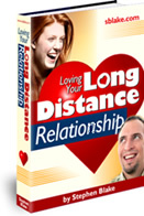 Ebook cover: Loving Your Long Distance Relationship