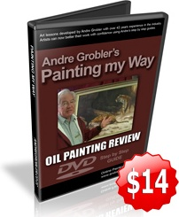 Ebook cover: Oil Painting Lessons For Artists And Students