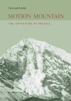 Ebook cover: Motion Mountain - The Adventure of Physics