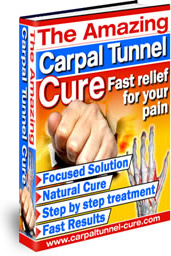 Ebook cover: The Amazing Carpal Tunnel Cure