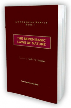 Ebook cover: The Seven Basic Laws Of Nature