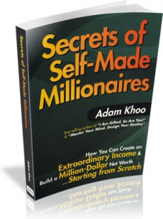 Ebook cover: The Secrets Of Self-Made Millionaires