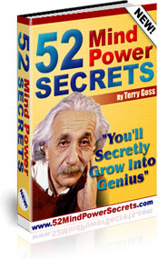 Ebook cover: 52 Mind Power Secrets