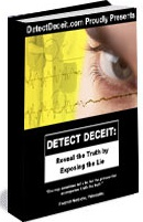 Ebook cover: Detect Deceit: Become a Human Lie Detector