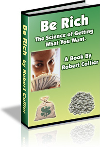 Ebook cover: Be Rich