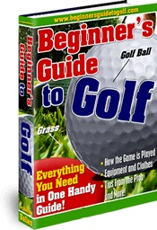 Ebook cover: Beginner's Guide to Golf