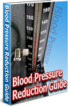 Ebook cover: Blood Pressure Reduction Guide