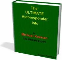 Ebook cover: The Ultimate Autoresponder Info