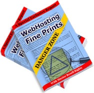 Ebook cover: WebHosting Fine Print