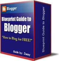 Ebook cover: Blueprint Guide to Blogger