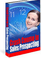 Ebook cover: A Crash Course in Modern Sales Prospecting