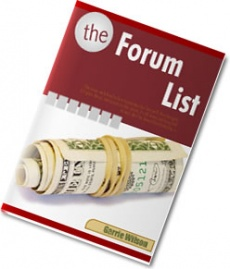 Ebook cover: The Forum List
