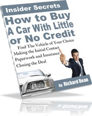 Ebook cover: How To Buy A Car With Little Or No Credit