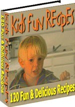 Ebook cover: Kids Fun Recipes
