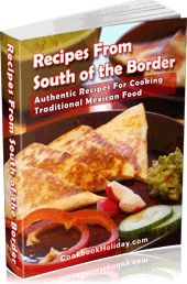 Ebook cover: Recipes From South Of The Border