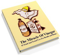 Ebook cover: The Miracle Of Vinegar