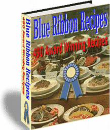 Ebook cover: Blue Ribbon Recipes
