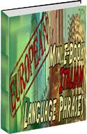 Ebook cover: Italian Phrase Mini-Ebook