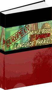 Ebook cover: Spanish Phrase Mini-Ebook
