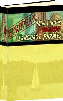 Ebook cover: Swedish Phrase Mini-Ebook