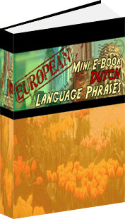 Ebook cover: Dutch Phrase Mini-Ebook