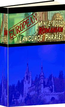 Ebook cover: Romanian Phrase Mini-Ebook