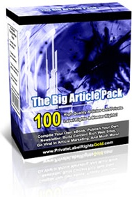 Ebook cover: The Big Article Pack