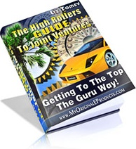 Ebook cover: The High Rollers Guide To Joint Ventures