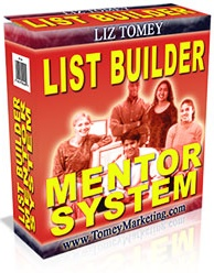 Ebook cover: List Builder Mentor System