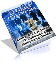 Ebook cover: Making Of An Internet Millionaire