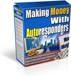 Ebook cover: Making Money With Auto Responders