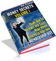 Ebook cover: Money Secrets Volume I