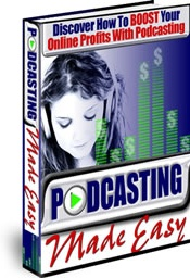 Ebook cover: Podcasting Made Easy
