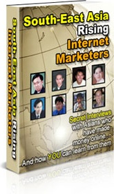 Ebook cover: South-East Asia Rising Internet Marketers