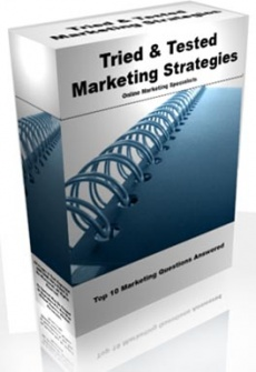 Ebook cover: Tried & Tested Marketing Strategies