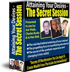 Ebook cover: Attaining Your Desires - The Secret Session