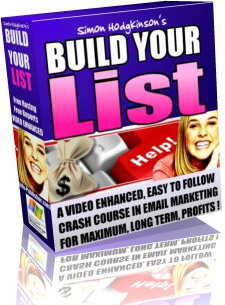 Ebook cover: Build Your List