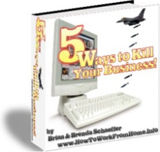 Ebook cover: 5 Ways to Kill Your Business