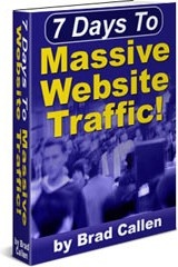 Ebook cover: 7 days to massive traffic