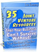 Ebook cover: 35 Joint Venture Resources