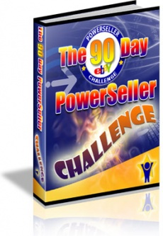 Ebook cover: 90 Day Powerseller Challenge