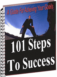 Ebook cover: 101 Steps To Success
