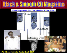 Ebook cover: Black & Smooth CD Magazine