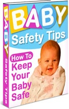 Ebook cover: Baby Safety Tips
